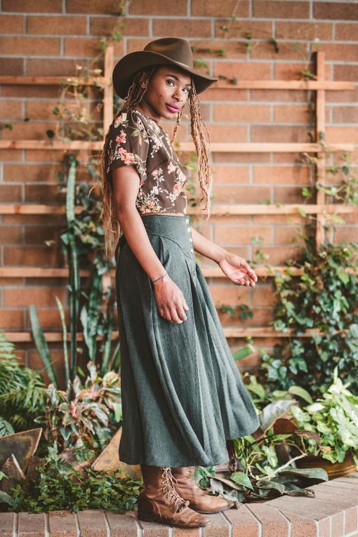Prairie Skirt Handmade Homestead Skirt
