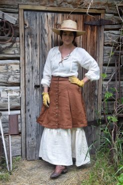 Linen Prairie Skirt Homestead
