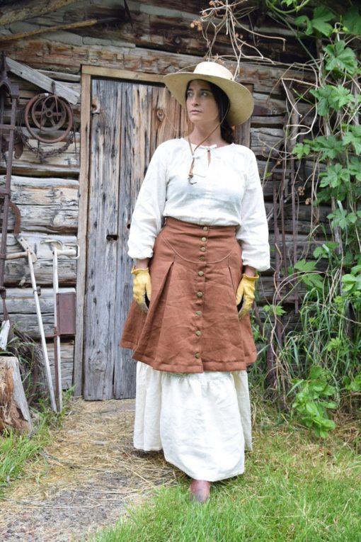 Linen Prairie Skirt Homestead