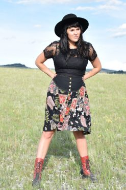 prairie skirt in blossom floral