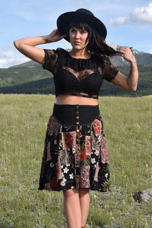 prairie skirt in blossom
