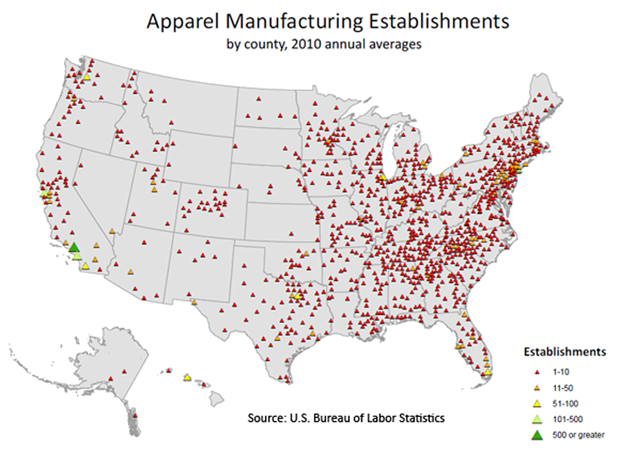 US Clothing Manufacturing