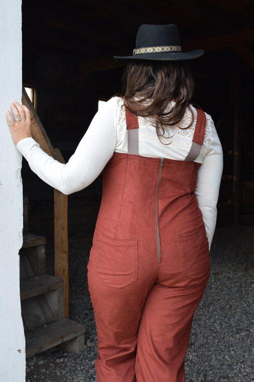 womens work overalls corduroy