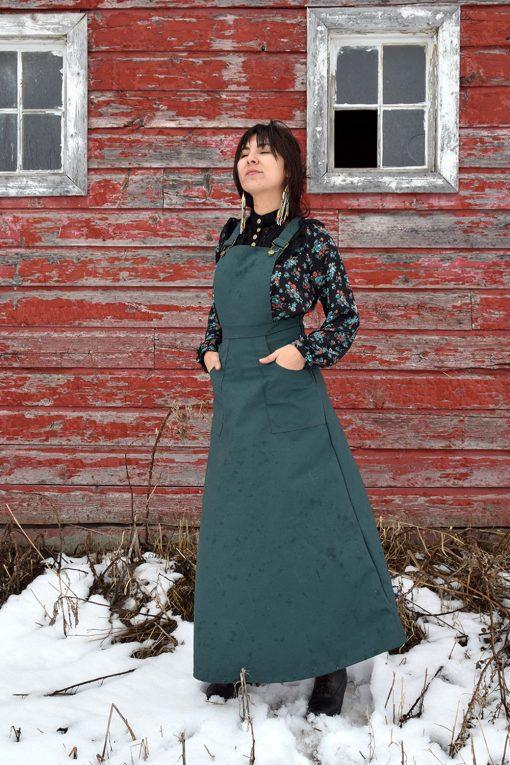 prairie homestead work skirt