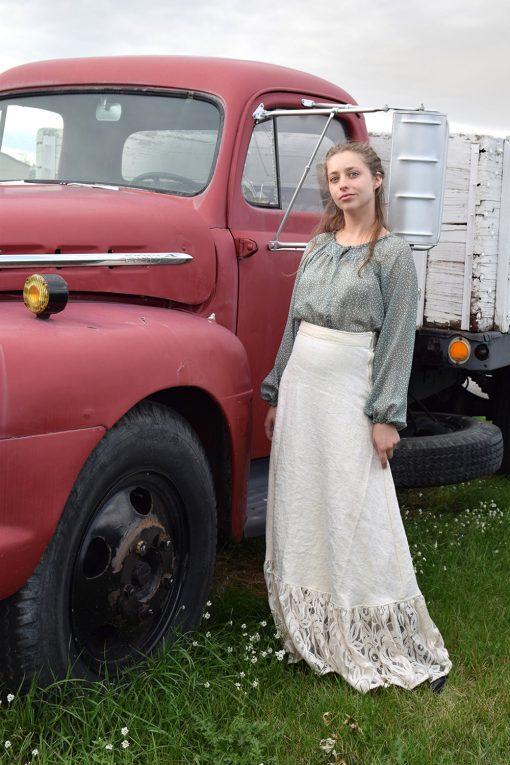 Vintage linen petticoat