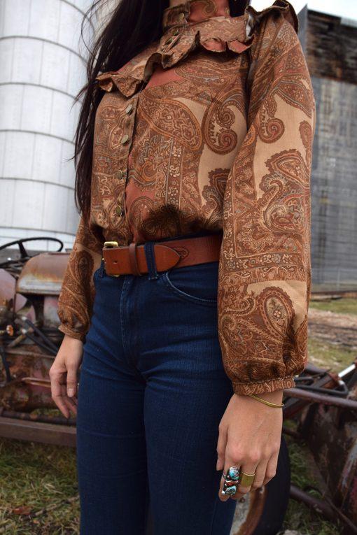 modern vintage blouse