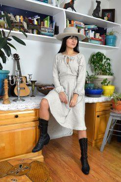 wool prairie dress