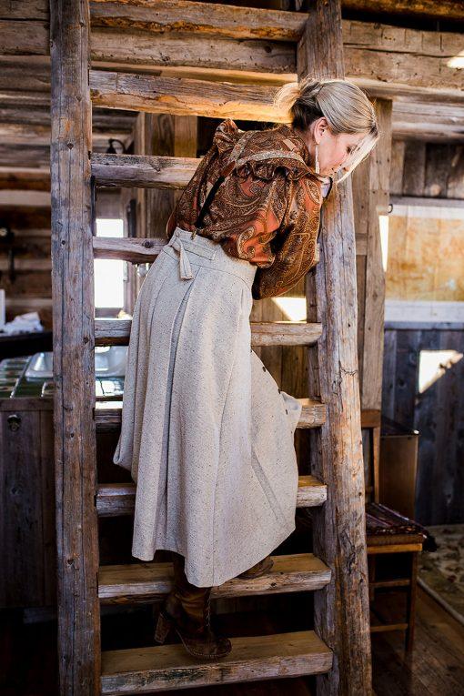 wool homestead skirt