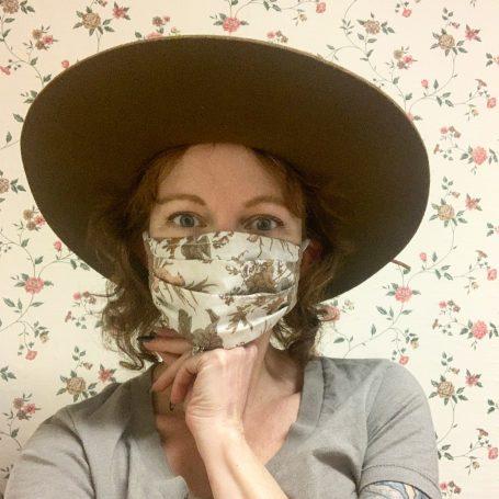 Modern Prairie Face Mask