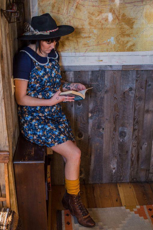 Handmade apron jumper