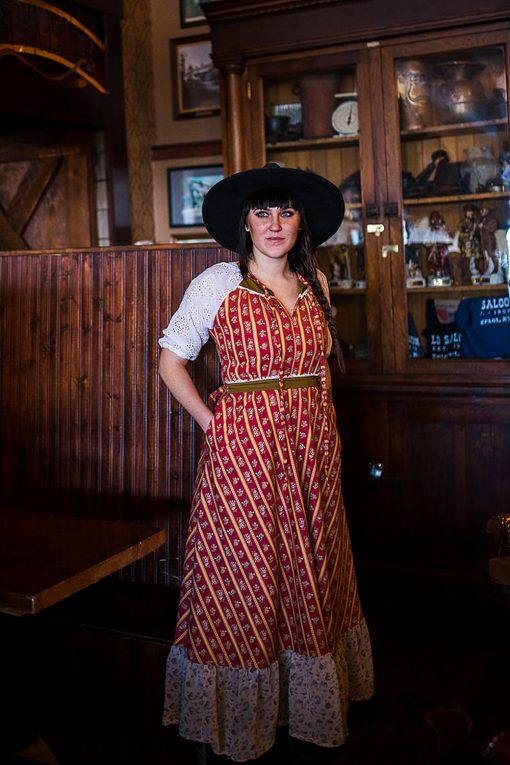 modern Gunne Sax Dress