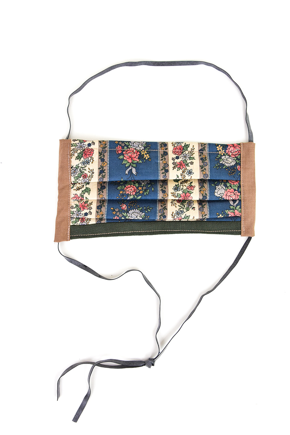 Prairie Face Mask With Adjustable Straps Wallpaper Print
