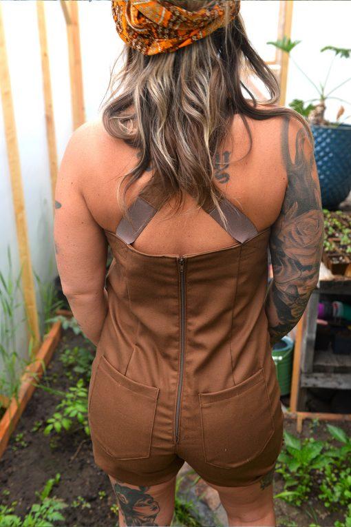 American made womens farm overalls