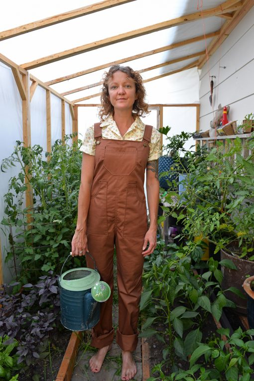 womens cotton work overalls