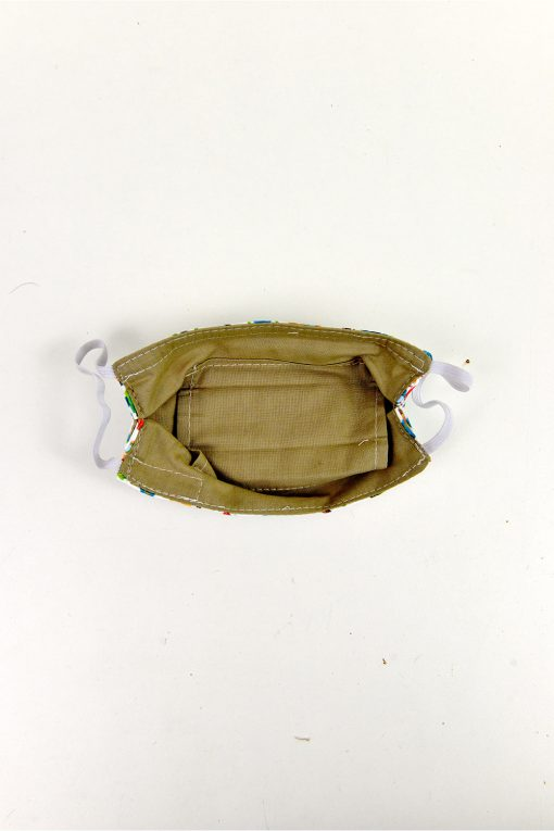 kids fabric face mask with filter