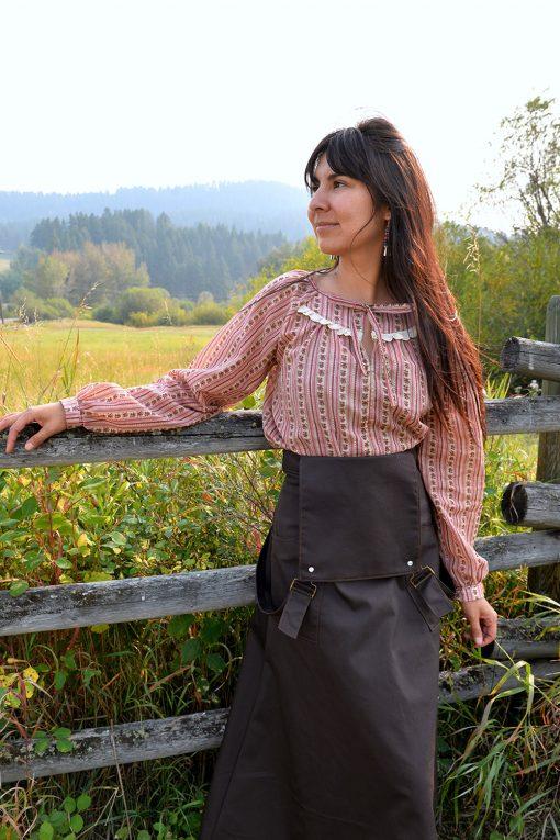 Peasant blouse cotton