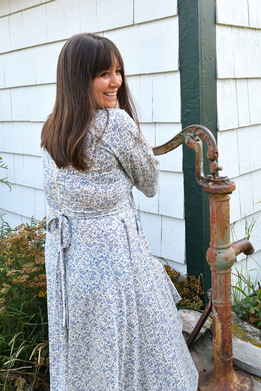 70s vintage inspired dress